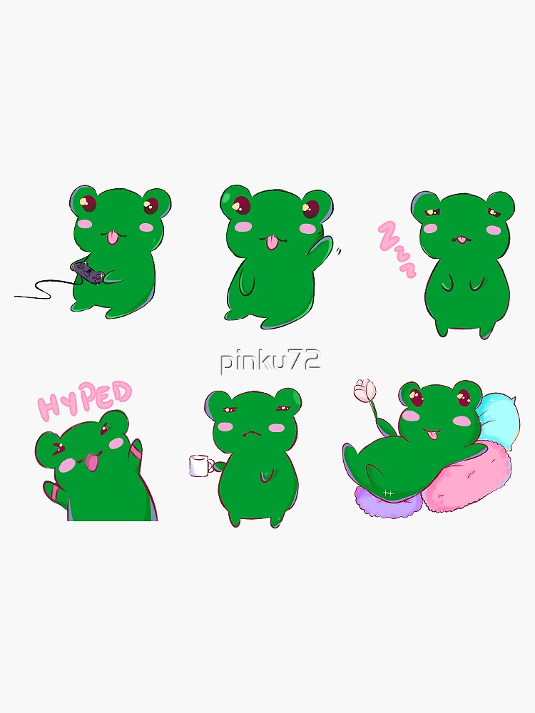 Pipi the the Frog by pinku72