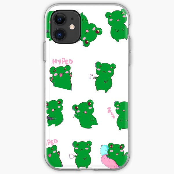 Pipi the the Frog iPhone Soft Case