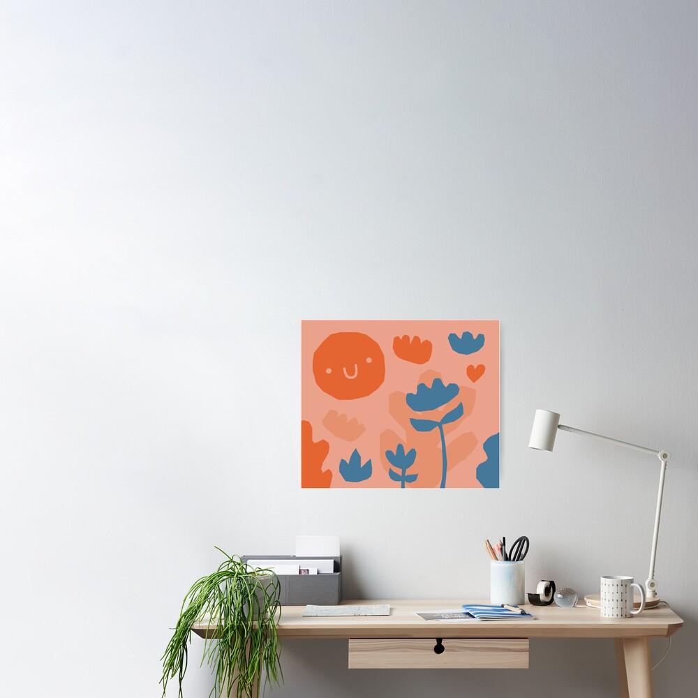 Garden pattern Poster