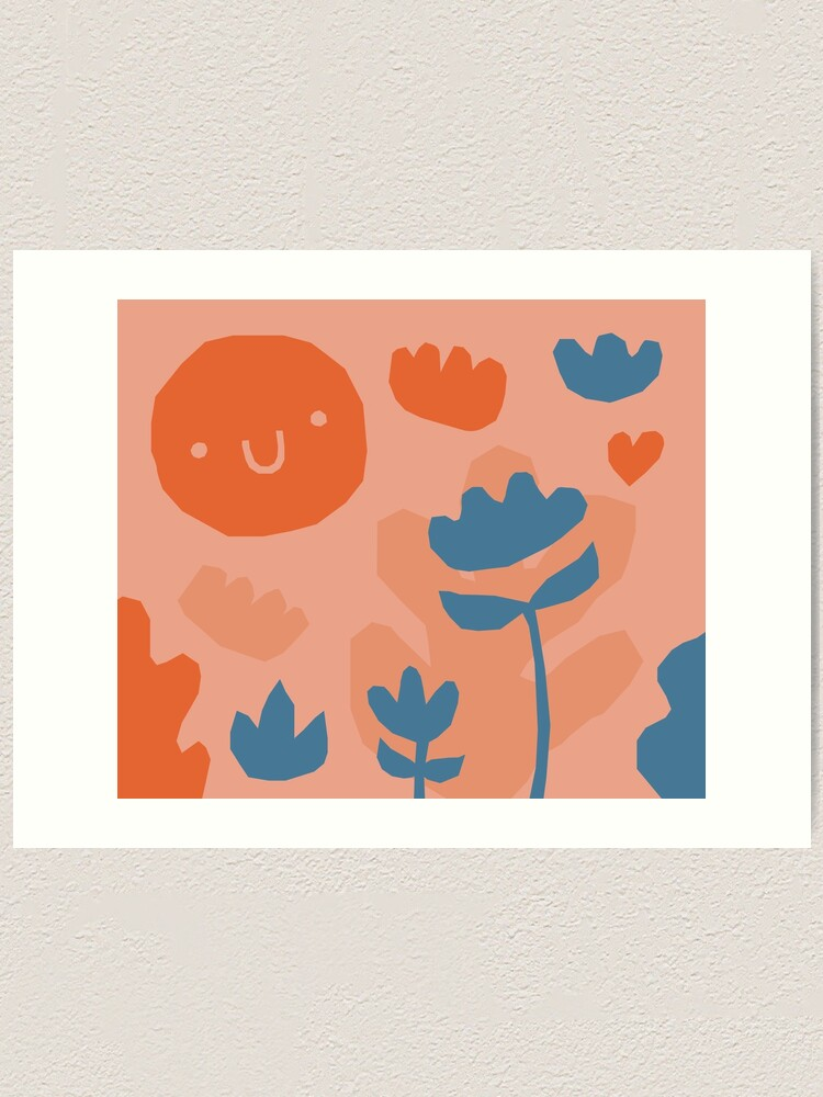 Alternate view of Garden pattern Art Print