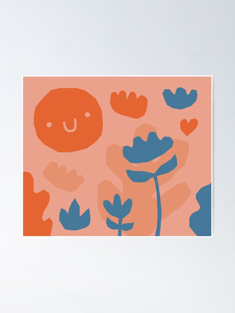 Alternate view of Garden pattern Poster