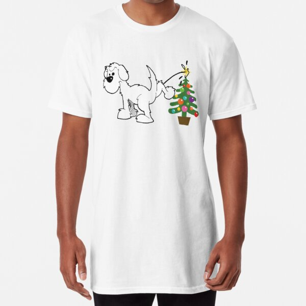 Merry Christmas love DOG Long T-Shirt
