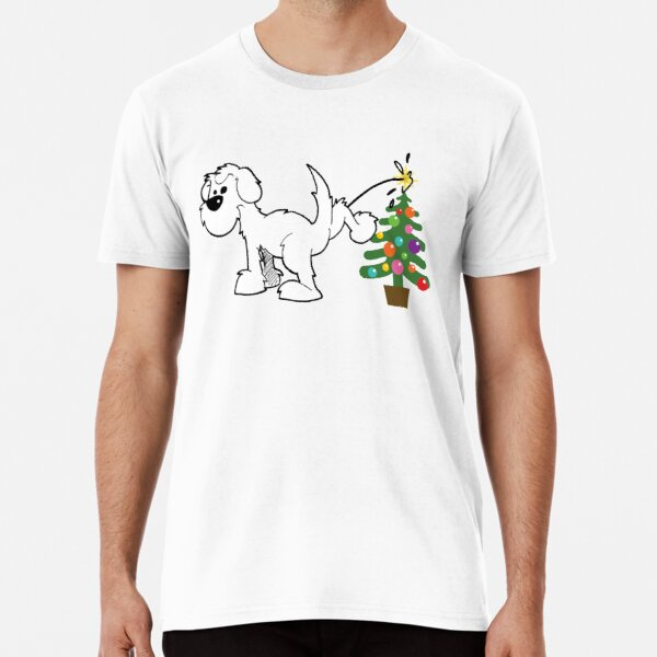Merry Christmas love DOG Premium T-Shirt