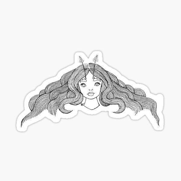 Little Moth Sticker