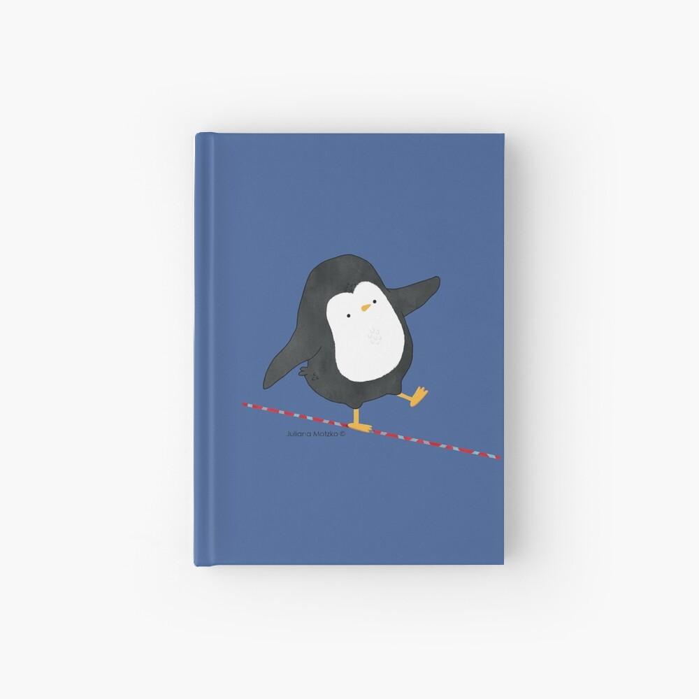 Equilibrist Penguin Hardcover Journal