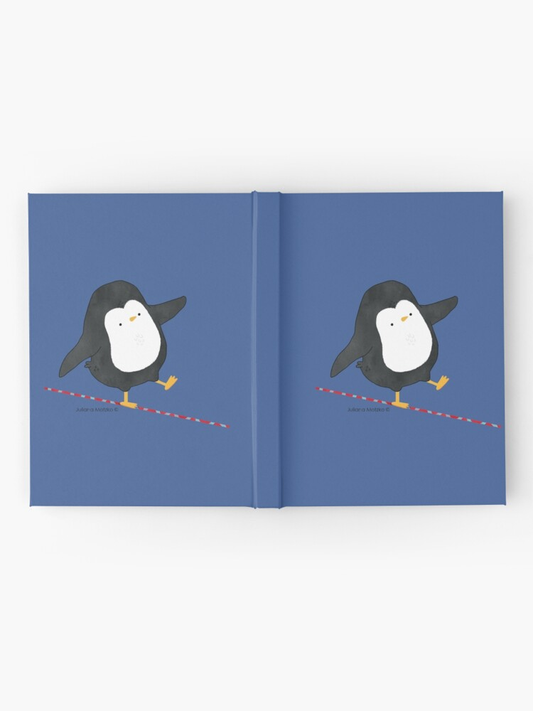 Alternate view of Equilibrist Penguin Hardcover Journal