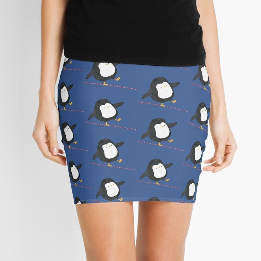 Equilibrist Penguin Mini Skirt