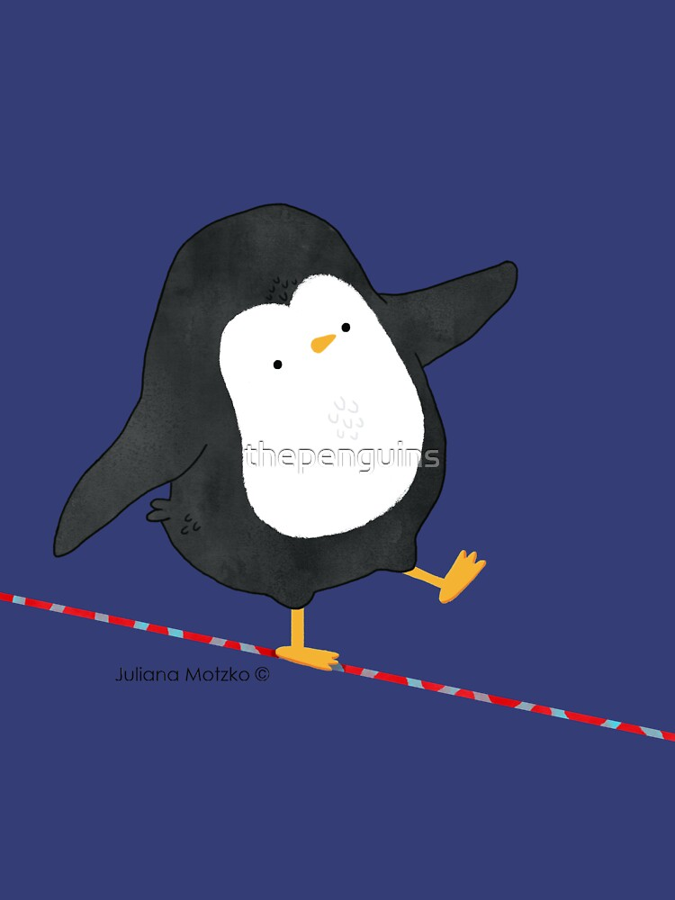 Equilibrist Penguin by thepenguins