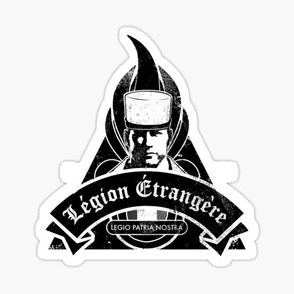 Légion Étrangère (en détresse) Sticker