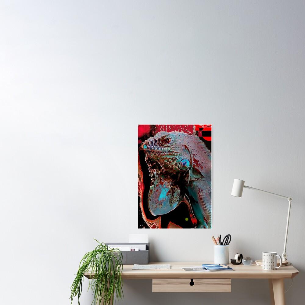 Igor the Iguana Poster