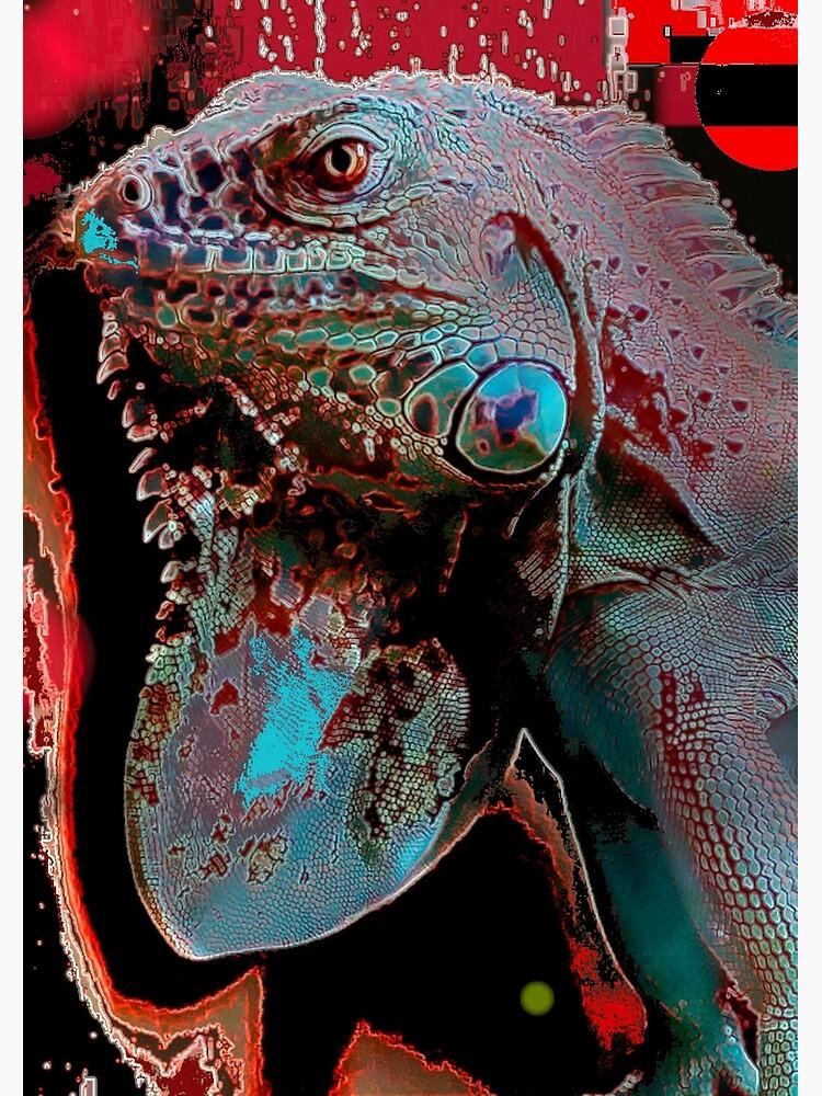 Igor the Iguana by michaeltodd