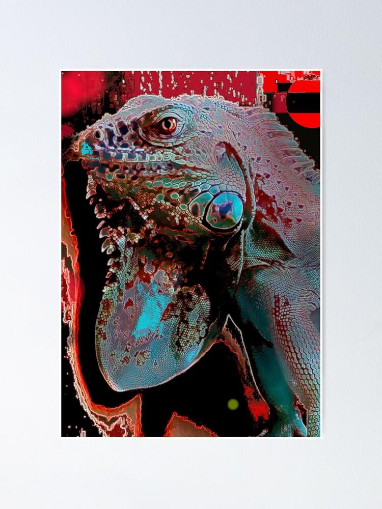 Alternate view of Igor the Iguana Poster