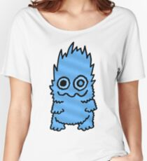 Blue Fuzz Hypnotist Women's Relaxed Fit T-Shirt
