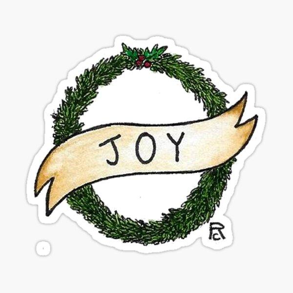 Joy Sticker