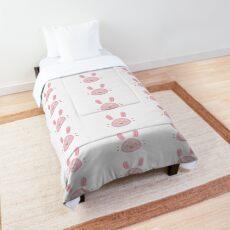 soft pink rabbit Comforter