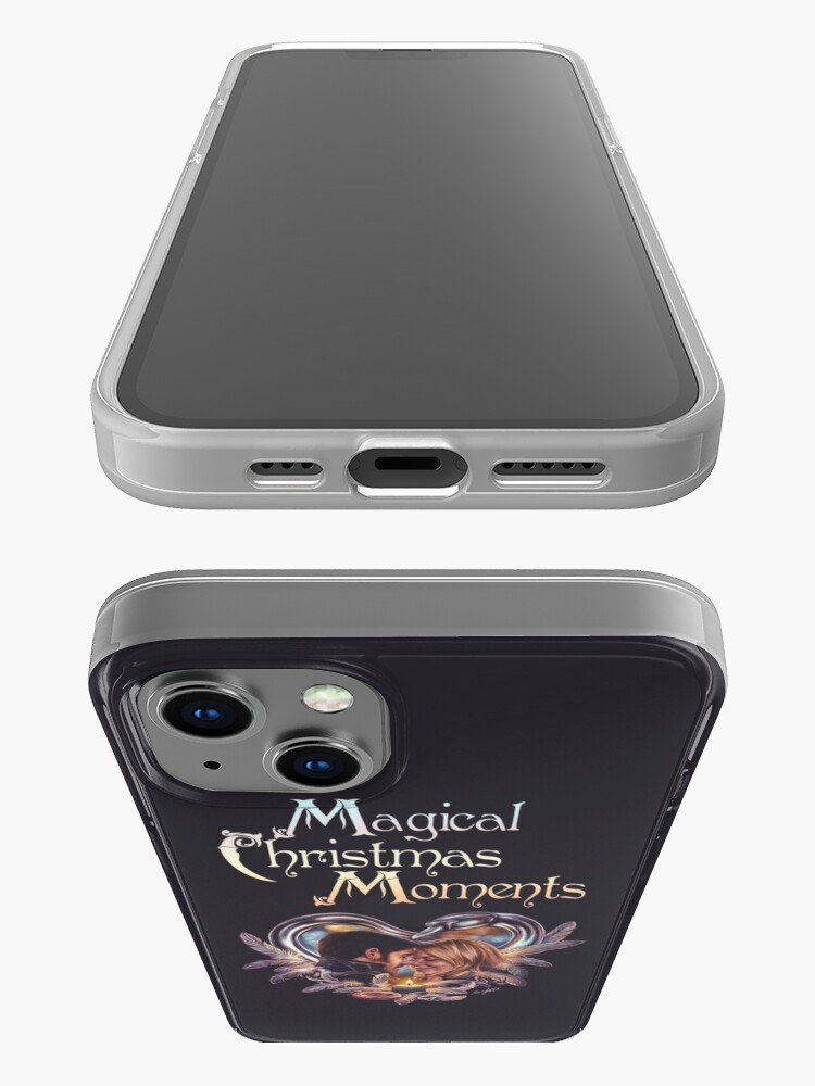 Alternate view of Captain Swan Magical Moments - Christmas card iPhone Case