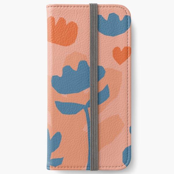 Garden pattern iPhone Wallet