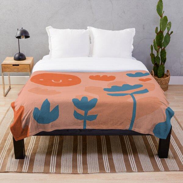 Garden pattern Throw Blanket