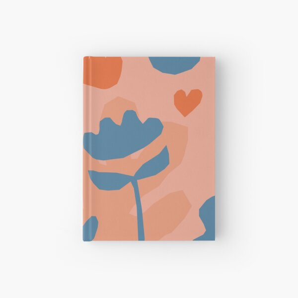 Garden pattern Hardcover Journal