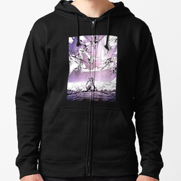 Death from above Zipped Hoodie
