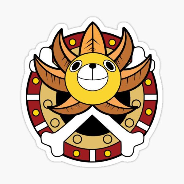 One Piece Sunny Thousand Logo Sticker