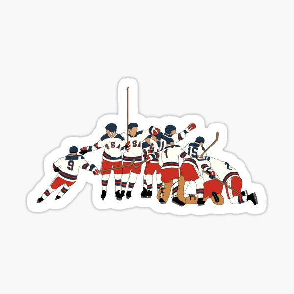 Miracle on Ice Sticker