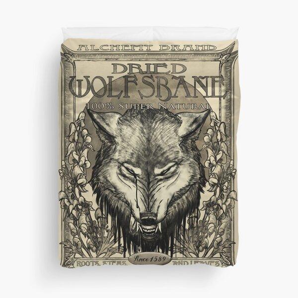 Dried Wolfsbane Duvet Cover