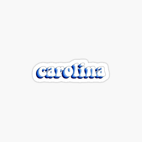 Carolina Retro Sticker