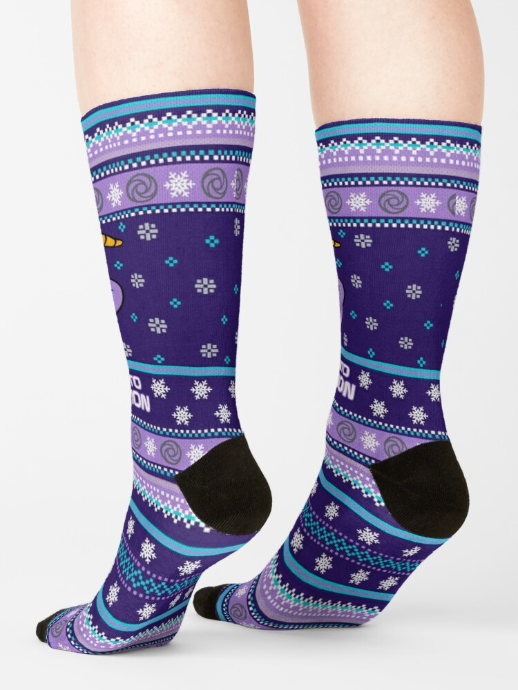 Alternate view of Figment Ugly Sweater Socks