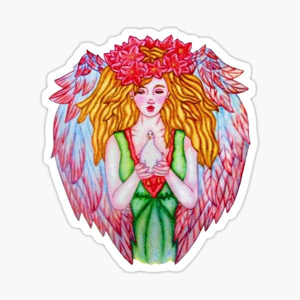 Noel Angel Sticker