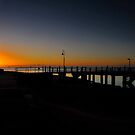 Baxters Jetty, Shorncliffe. Brisbane, Queensland, Australia. by Ralph de Zilva