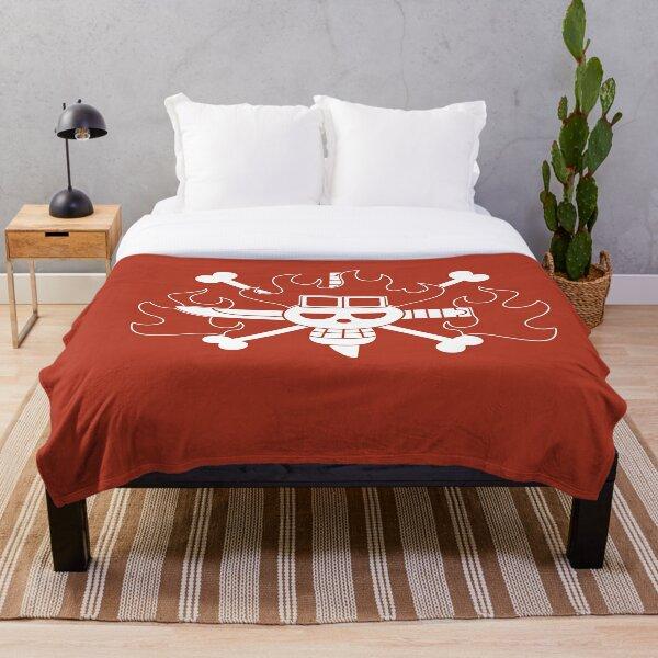 Kid Pirates Jolly Roger Throw Blanket
