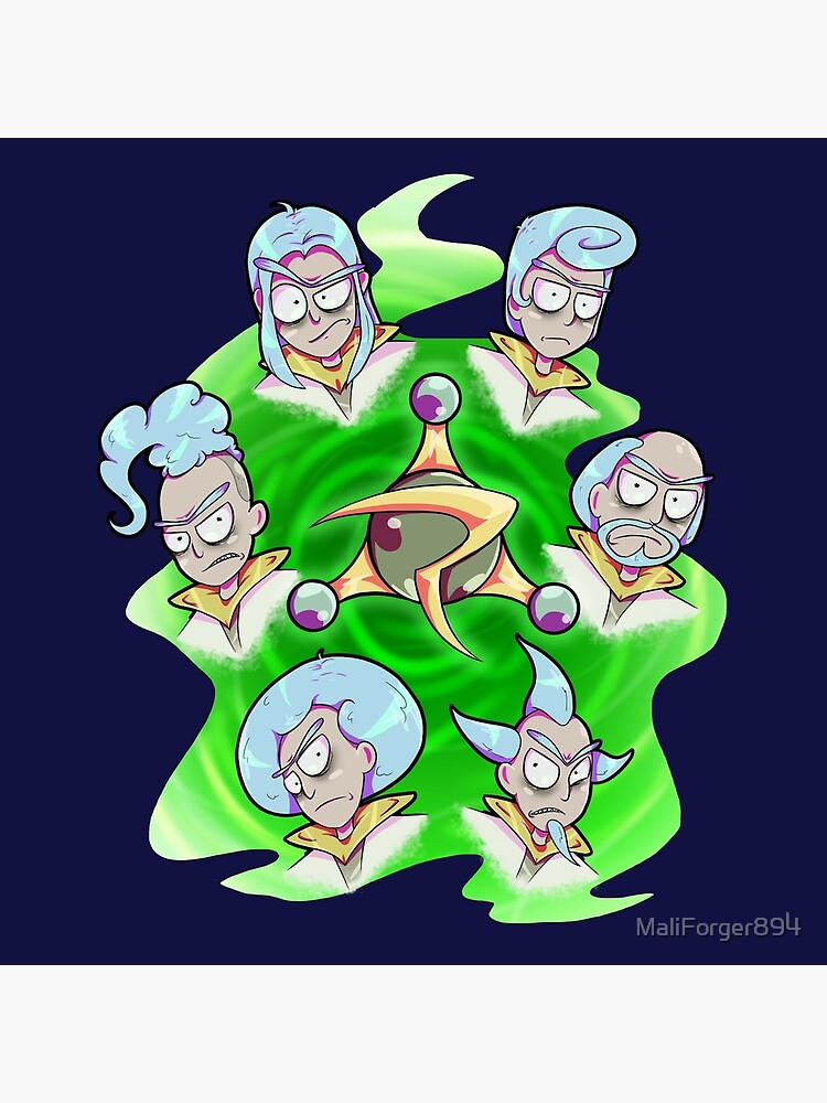 Rick and Morty - Council of Rick by MaliForger894
