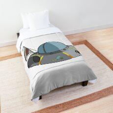 Ricks spaceship Comforter