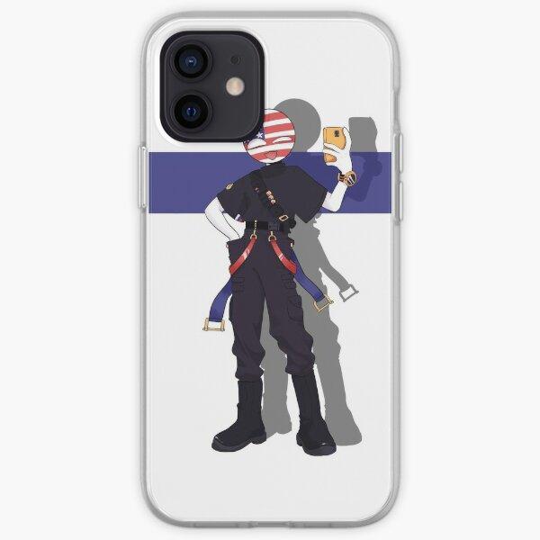 Countryhumans America Funda blanda para iPhone