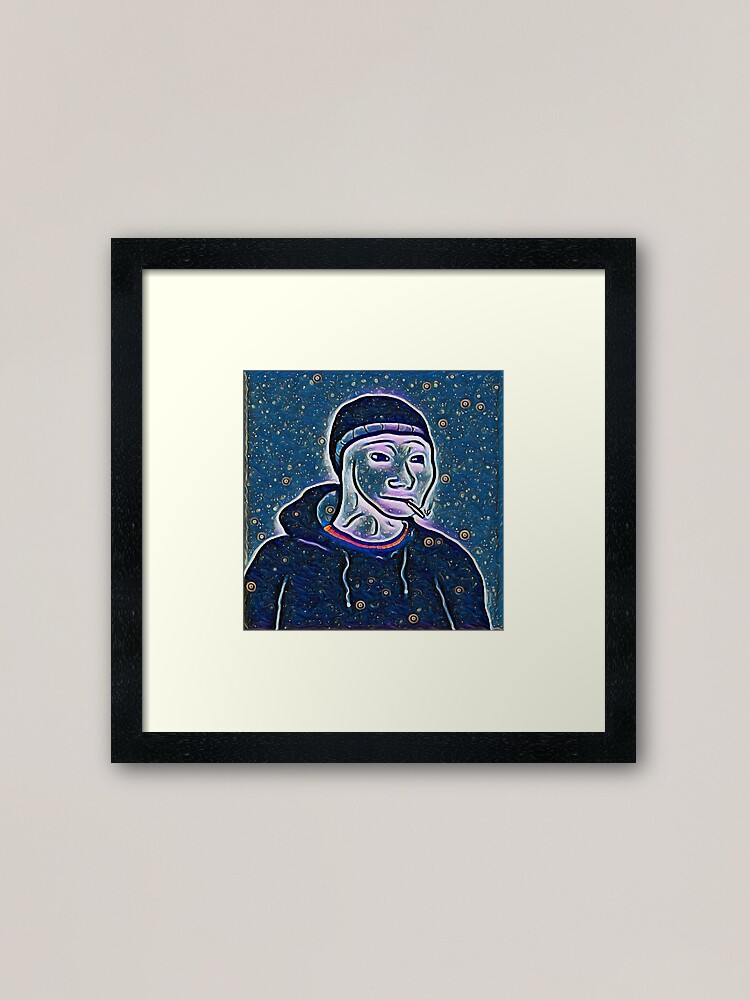 Cold Midnight Doomer Framed Art Print By Fhloston123 Redbubble