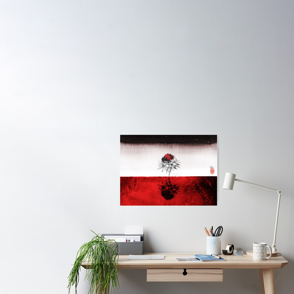 Red on Red Poster