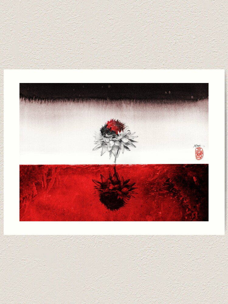 Alternate view of Red on Red Art Print