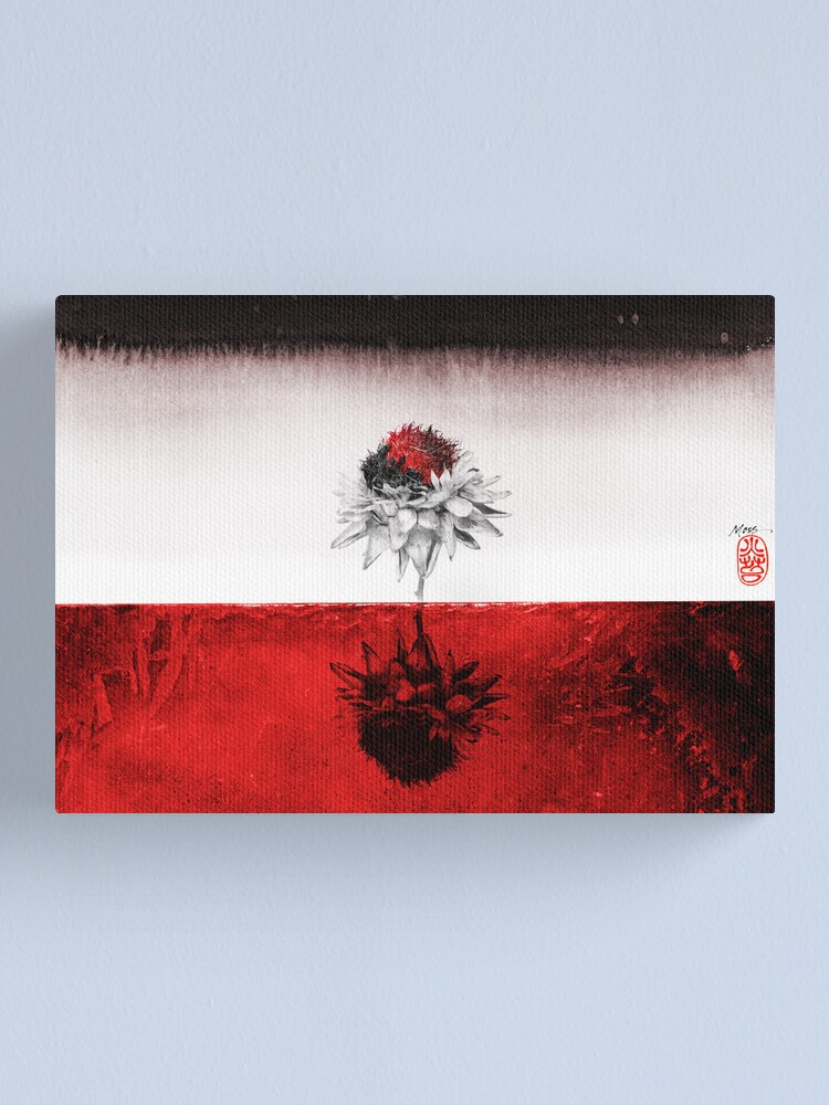 Alternate view of Red on Red Canvas Print