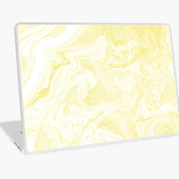 BUTTER MARBLE Laptop Skin