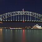 The Bridge - By Night by Mark  Lucey