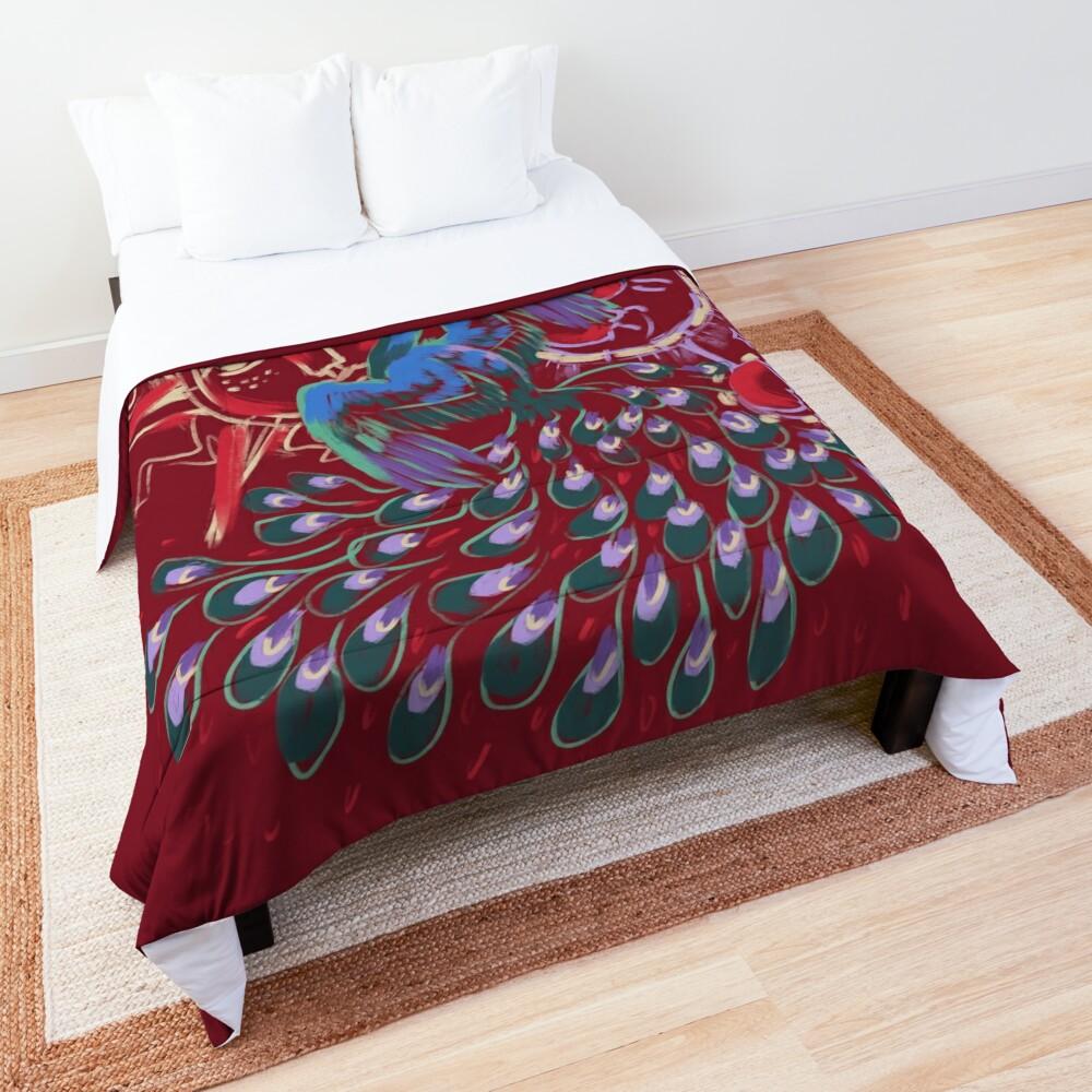 Mollymauk Back of Coat Grunge Style Comforter