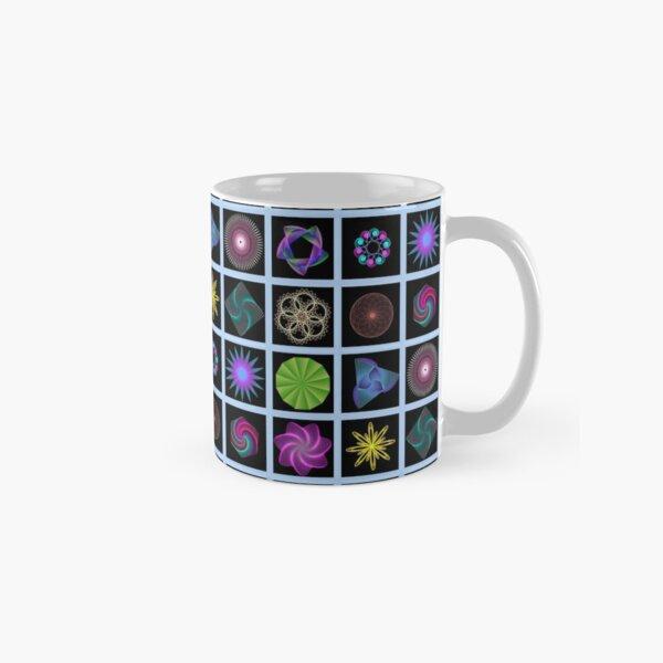 Beautiful colorful geometric shapes Classic Mug