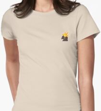 Artifice Small Corporate Logo Womens Fitted T-Shirt