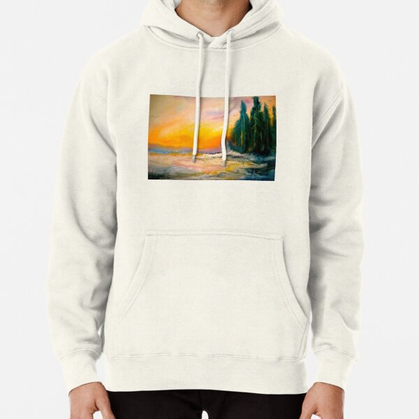 The Wild Sun.. Pullover Hoodie