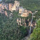 Bridal Veil Falls, Grose Valley, NSW, Australia  (HDR) by Adrian Paul