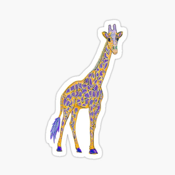 Giraffic Sticker