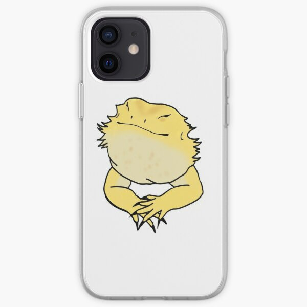 Bearded dragon iPhone Soft Case