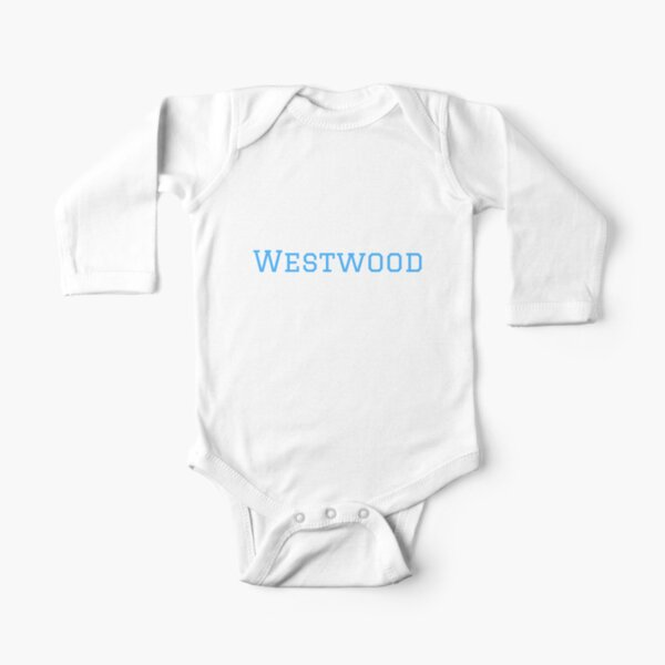 Westwood (blue) Long Sleeve Baby One-Piece