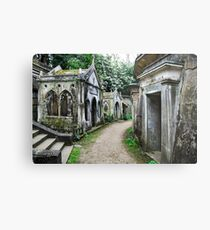 Highgate Cemetry 2 Metal Print